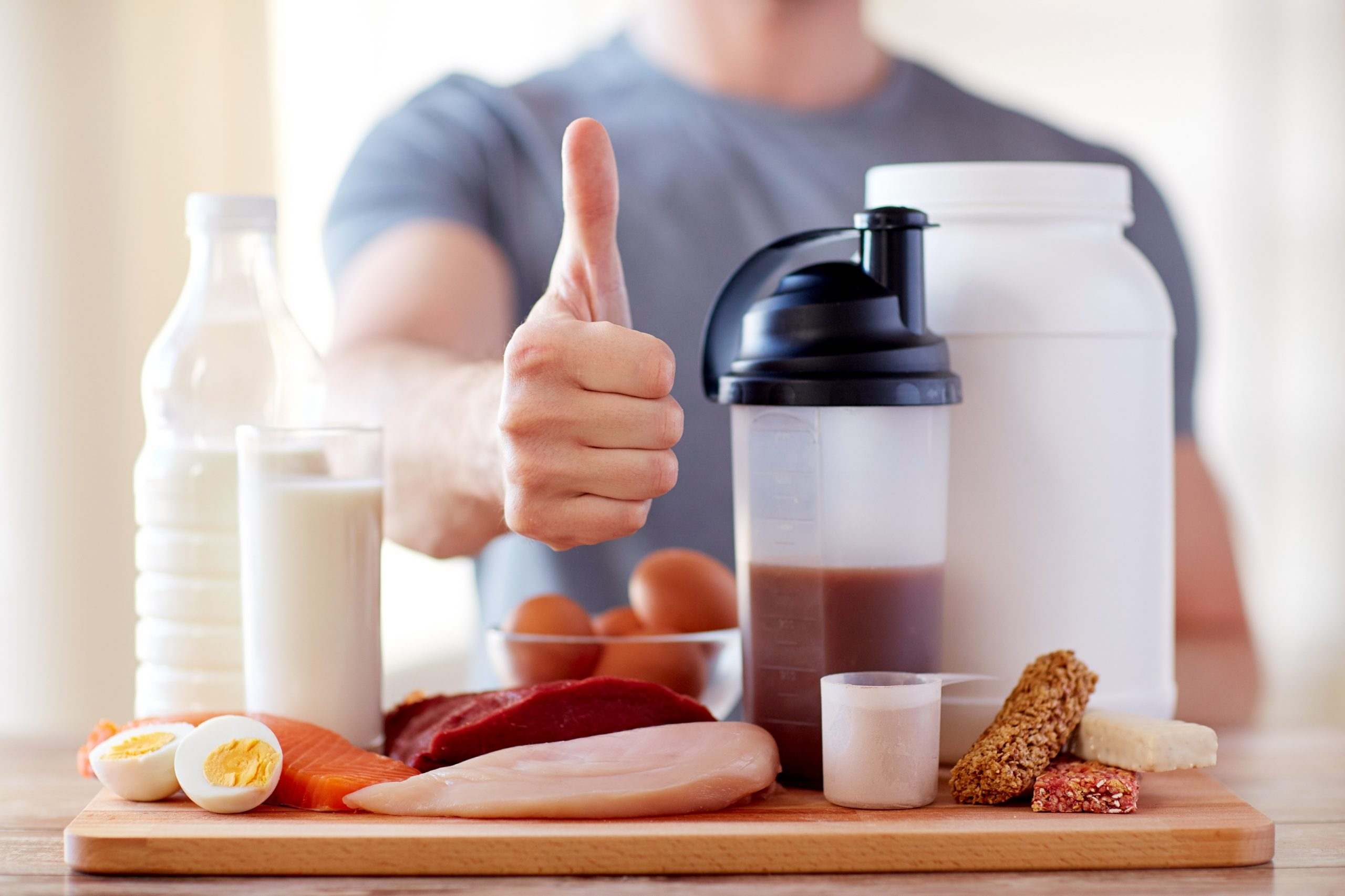 Protein Use While taking Steroids